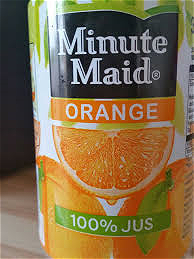 Foto Minute maid jus d´orange
