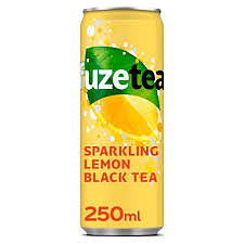 Foto Fuze tea sparkling lemon black tea